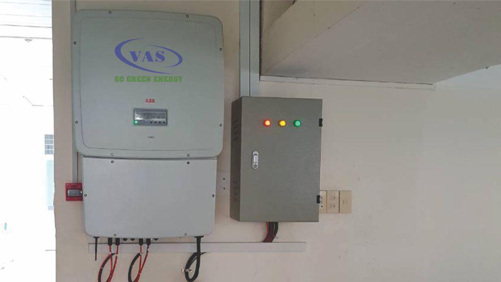 Hệ Thống điện Mặt Trời Hòa Lưới 20 KWpCTCP Điện Nước An Giang – VAS