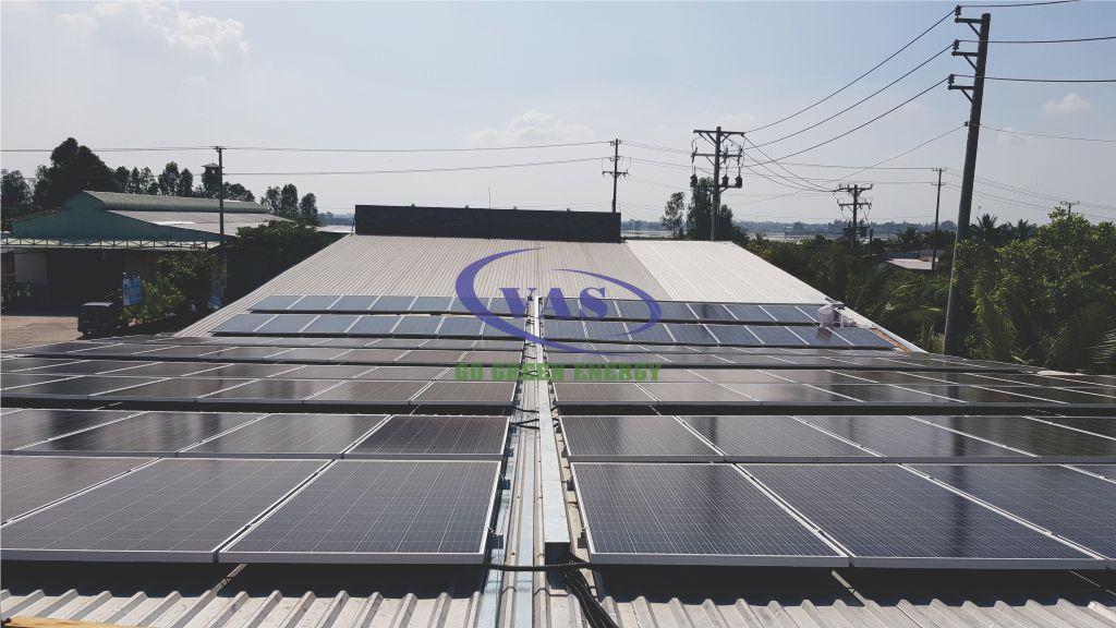 Hệ Thống điện Mặt Trời Hòa Lưới 155 KW Cty Sản Xuất Kính – VAS