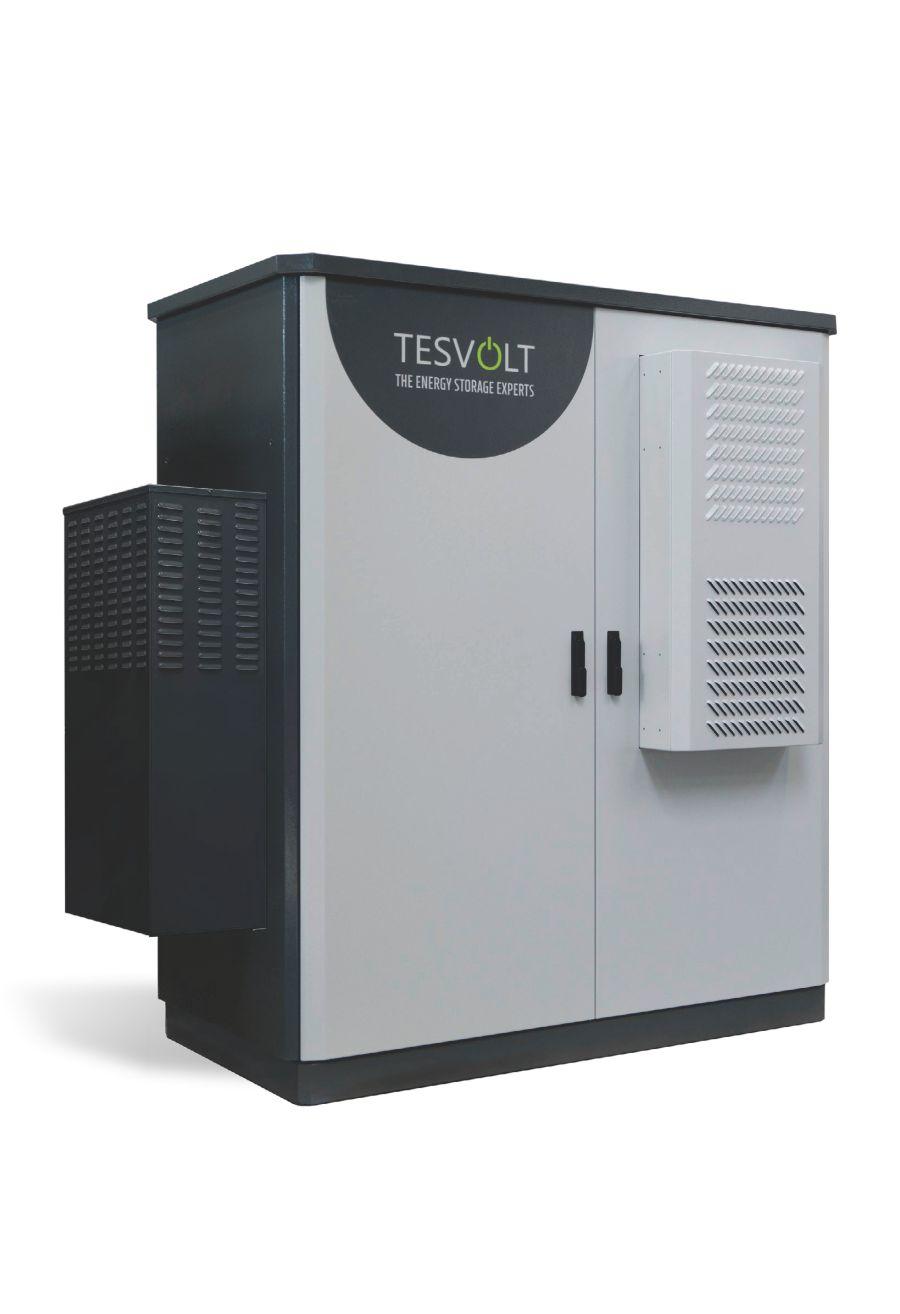 Tesvolt- HV 70 Outdoor Lithium Storage System