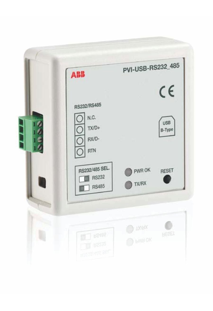 PVI-USB-RS232_485 Converter