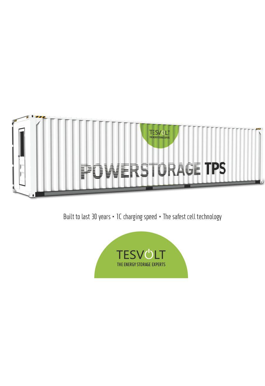 Tesvolt – TPS Lithium Storage System