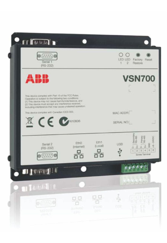 VSN700 Data Logger