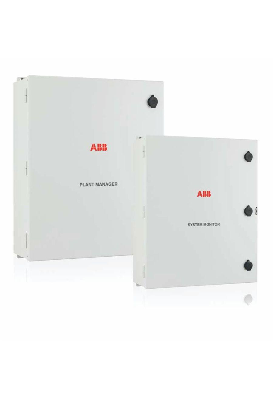 VSN730 System Monitor / VSN750 Plant Manager