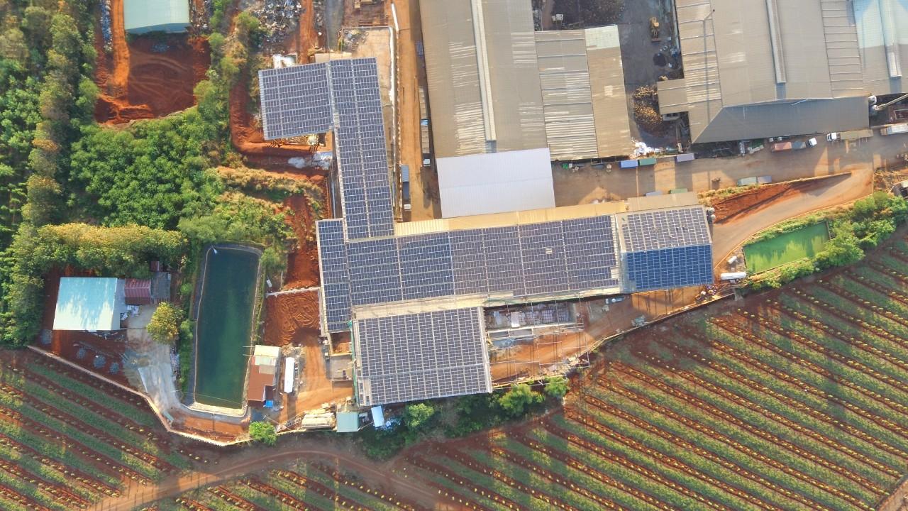 Hệ Thống điện Mặt Trời Hòa Lưới 1MWp Thuận Lợi